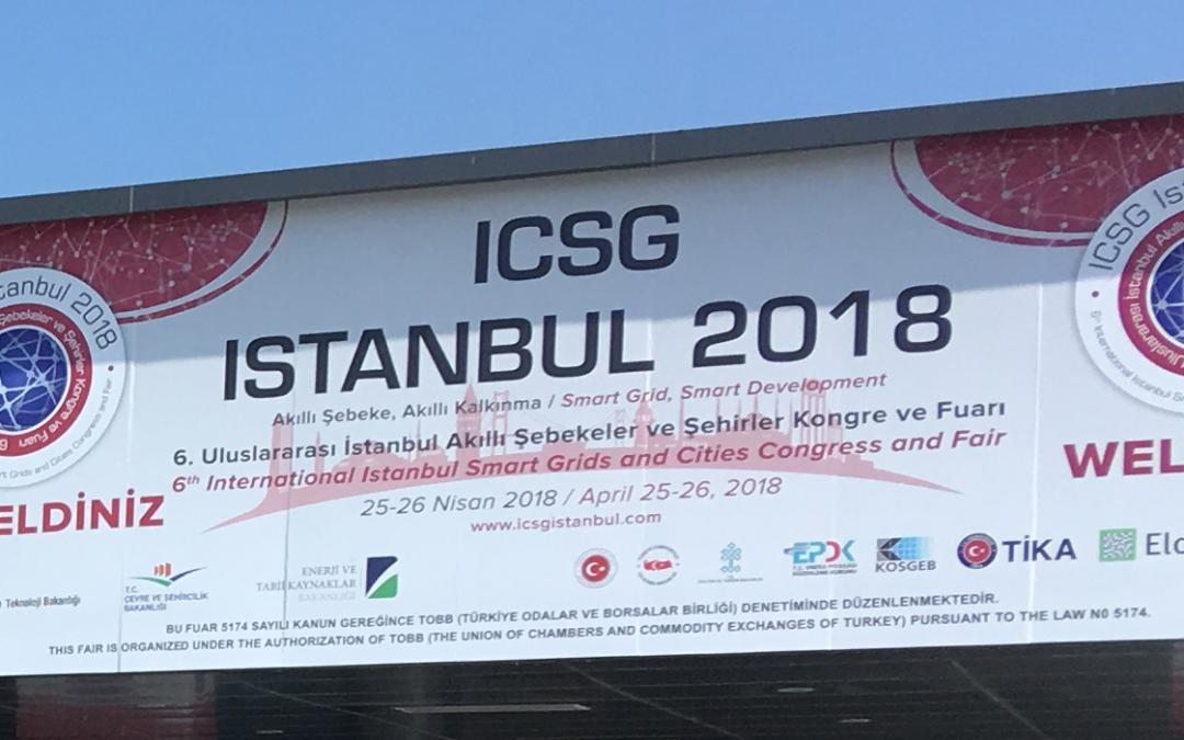 ICSG 2018 szakmai konferencia és kiállítás Isztambulban