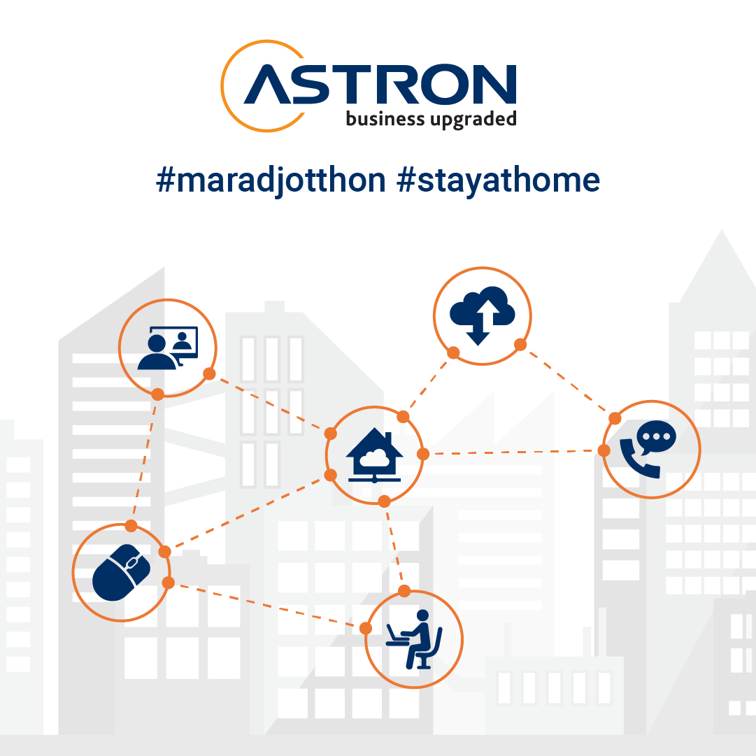 Astron Informatikai Kft. has been conducting its entire business from a home office
