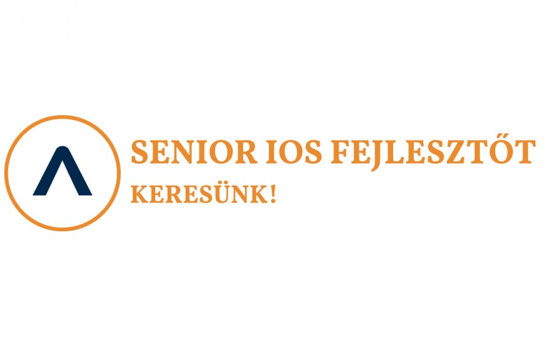 Senior iOS fejlesztőt keresünk