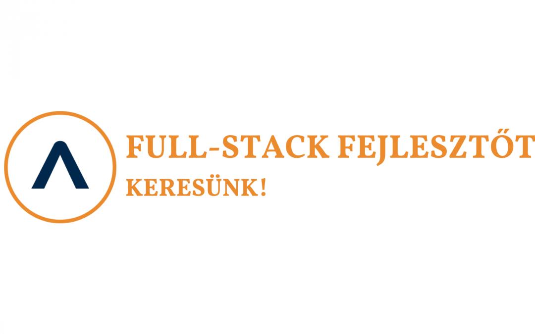 Full-stack fejlesztőt keresünk!