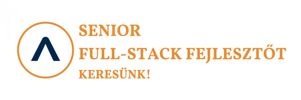 Senior Full-Stack Fejlesztőt keresünk!