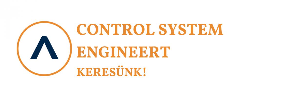 Control System Engineert keresünk!