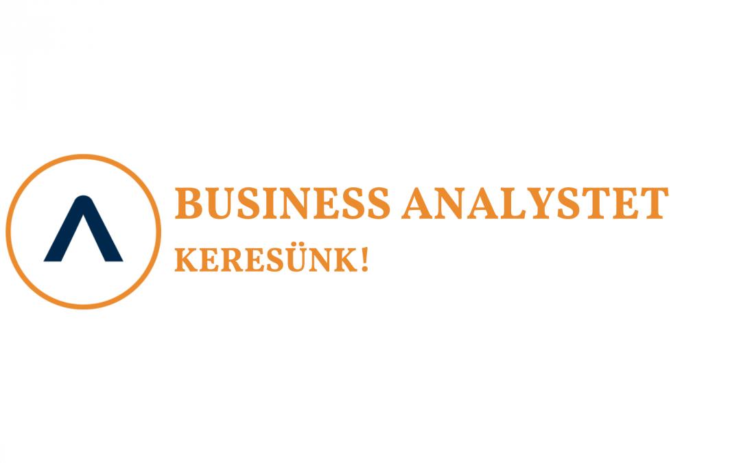 Business Analystet keresünk!
