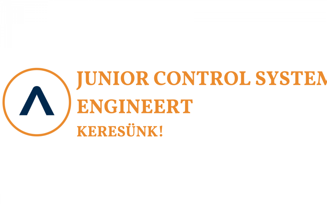 Junior Control System Engineert keresünk!