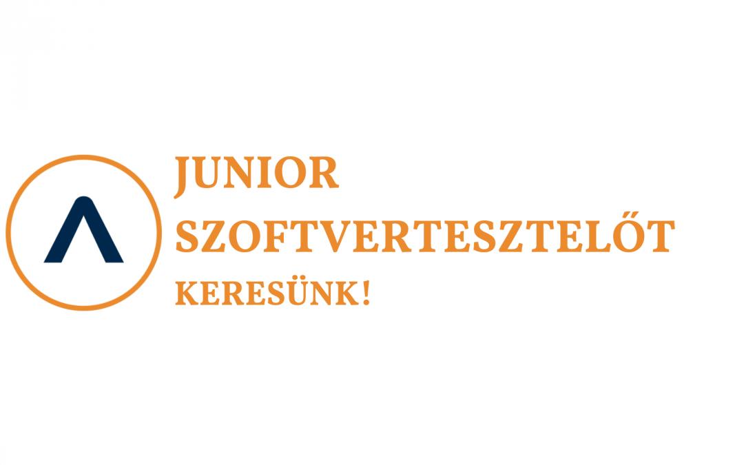Junior szoftvertesztelőt keresünk!
